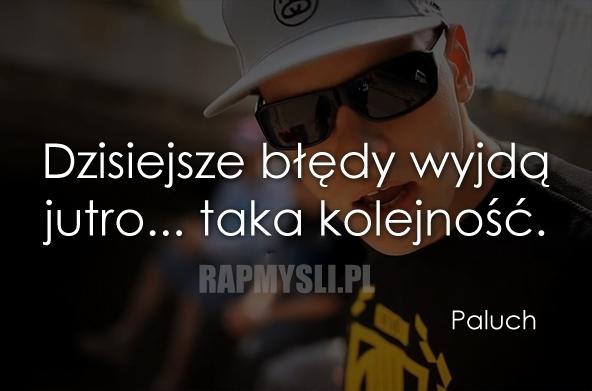 Rap cytaty paluch