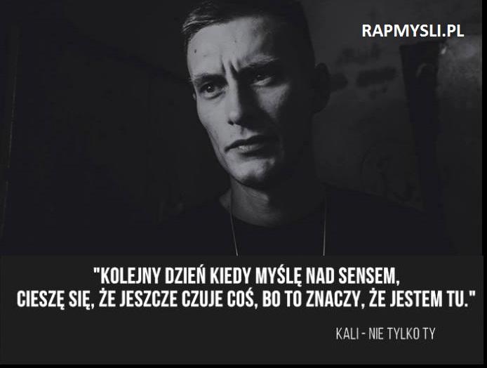 Rapmyslipl Najlepsze Cytaty Z Rapu I Nie Tylko
